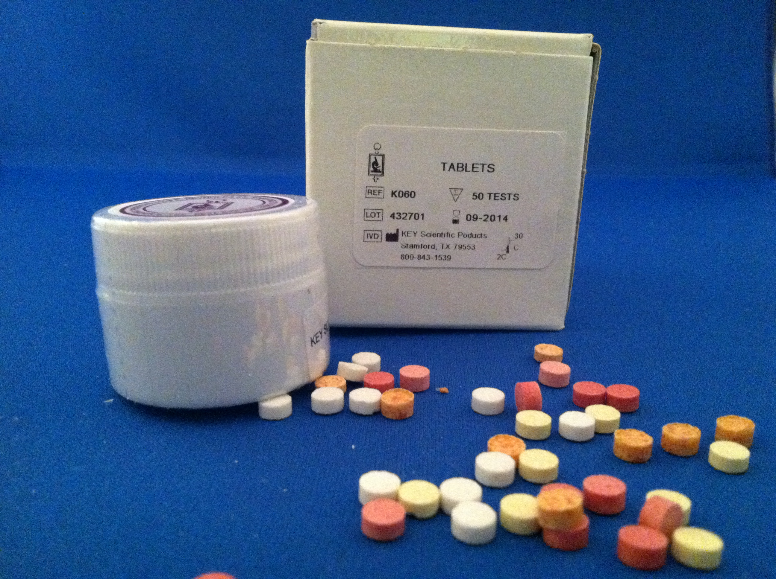 MANNITOL FERMENTATION TABLET
