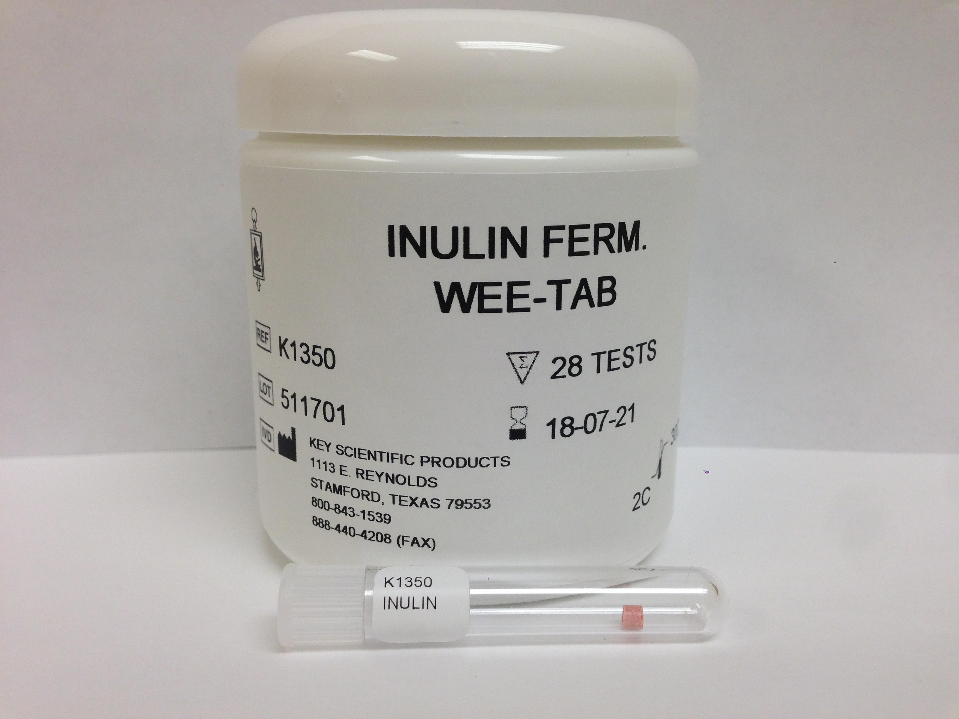 WEE-TAB INULIN FERMENTATION