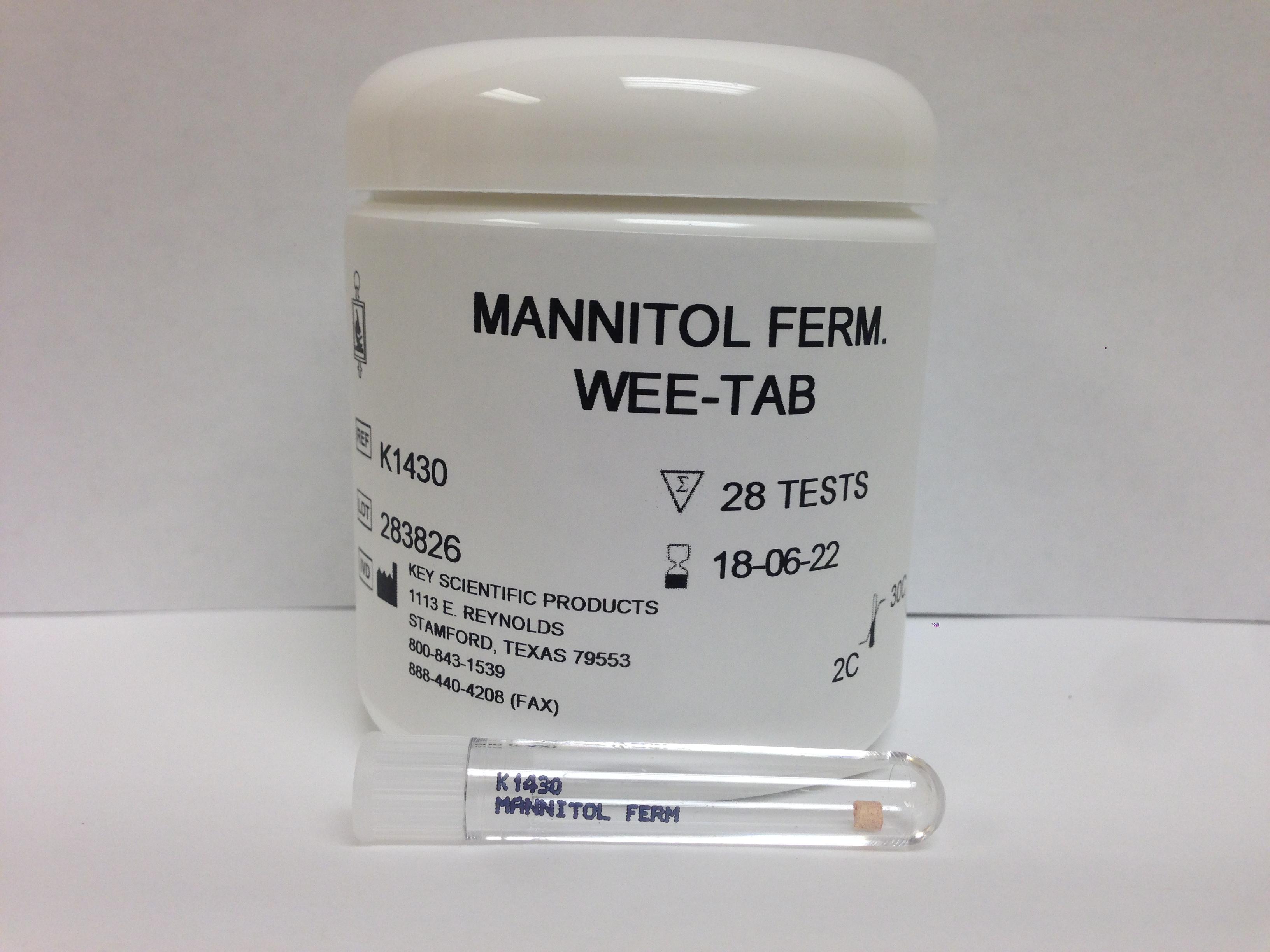 WEE-TAB MANNITOL FERMENTATION